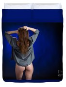 Toriwaits Nude Fine Art Print Photograph In Color 5085.02 Duvet Cover