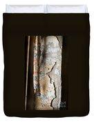 Torn Curtain Duvet Cover