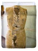 Torn Dress Form Duvet Cover