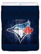 Toronto Blue Jays Barn Door Duvet Cover