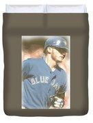 Toronto Blue Jays Josh Donaldson 4 Duvet Cover
