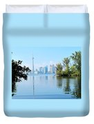 Toronto From The Islands Park Duvet Cover