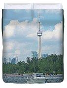 Toronto Island  Duvet Cover