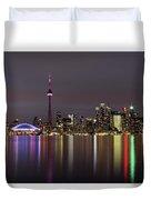 Toronto Lights Duvet Cover