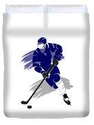Toronto Maple Leafs Player Shirt Duvet Cover
