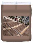 Toronto's Harbourfront Duvet Cover