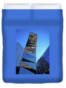 Torre Mare Nostrum - Torre Gas Natural Duvet Cover by Juergen Weiss