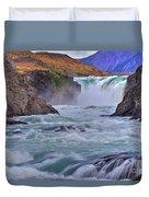 Torres Del Paine 001 Duvet Cover