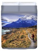 Torres Del Paine 21 Duvet Cover