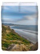 Torrey Pines, San Diego Beach, California Duvet Cover