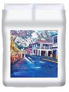 Tortola  Main Street Duvet Cover