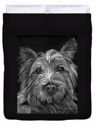 Tosha The Highland Terrier Duvet Cover
