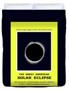 Totality II Duvet Cover