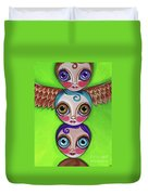 Totem Dolls Duvet Cover