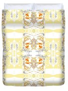 Totheme Yellow Duvet Cover