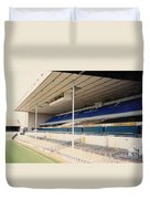 Tottenham - White Hart Lane - East Stand 3 - April 1991 Duvet Cover