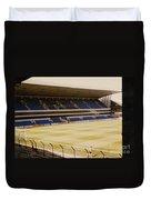 Tottenham - White Hart Lane - West Stand 2 - 1980s Duvet Cover
