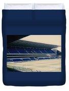 Tottenham - White Hart Lane - West Stand 3 - 1980s Duvet Cover