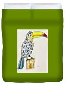 Toucan - You Are What You Eat Duvet Cover