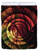 Touch Of Sunshine Abstract Duvet Cover