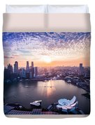 Touch Of Warm Hues Duvet Cover