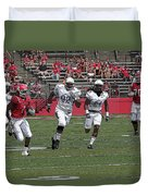 Rutgers Touchdown - Janarion Grant Duvet Cover