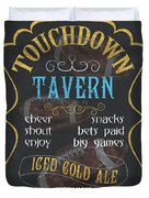 Touchdown Tavern Duvet Cover