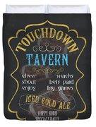 Touchdown Tavern Duvet Cover