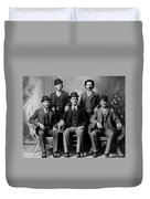 Tough Men Of The Old West 2 Duvet Cover