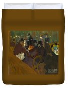 Toulouse-lautrec Moulin Rouge Duvet Cover
