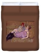 Toulouse Lautrec The Sofa Duvet Cover