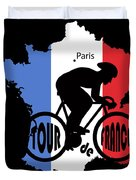 Tour De France 3 Duvet Cover