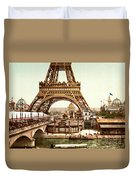 Tour Eiffel  Exposition Universelle Duvet Cover