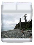 Tow Hill Haida Gwaii Bc Duvet Cover
