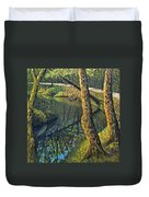 Tow Path Duvet Cover by Don Perino