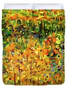 Towards Autumn Duvet Cover