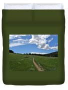 Towards The Sky Duvet Cover