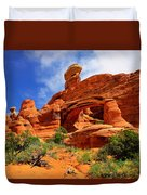 Tower Arch Duvet Cover