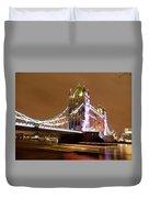Tower Bridge Evening Duvet Cover