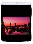 Tower Bridge, London. Duvet Cover