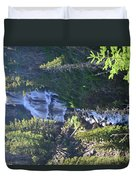 Tower Falls Duvet Cover