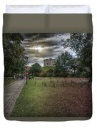 Tower Gardens Duvet Cover