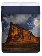 The Midnight Tower Duvet Cover