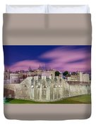 Tower Of London At Dawn Duvet Cover
