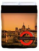 Tower Of London. Duvet Cover