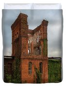 Tower Of Ruins Duvet Cover