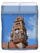 Tower Of The Decatur Courthouse  Duvet Cover