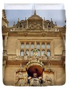 Tower Of The Five Orders Bodleian Library Oxford Duvet Cover