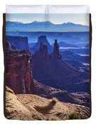 Tower Sunrise Duvet Cover by Chad Dutson