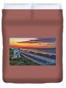 Tower Sunrise Duvet Cover